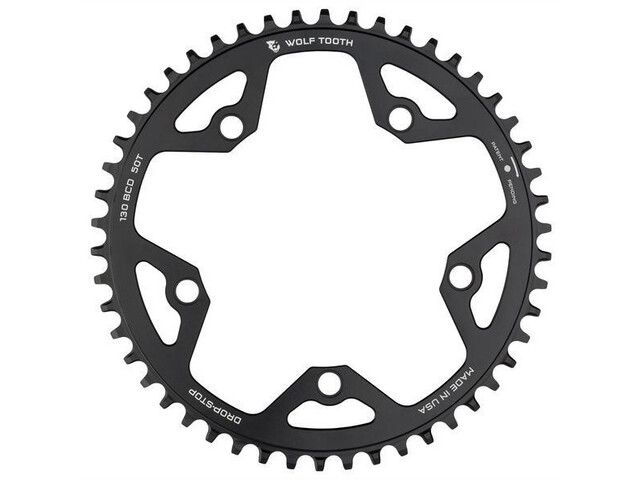 Wolf Tooth Cyclocross Plateau Ø130mm BCD, black